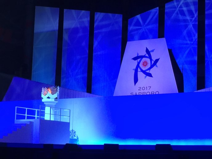 2017 Sapporo Asian Winter Games Main Stage