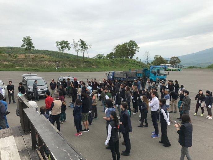 2017 05 22 Hirafu Niseko Spring Clean Up 1