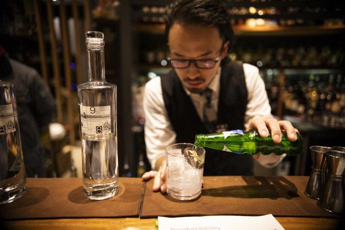 Benizakura gin tasting2