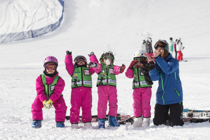 Go Snow 4 Pink Children Kids Ski Free March