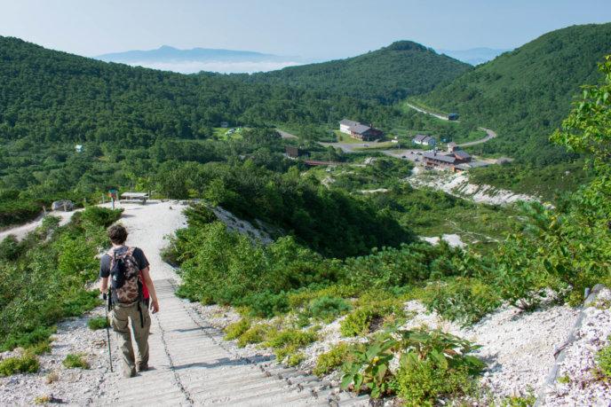 Goshiki Iwaonupuri Hiking