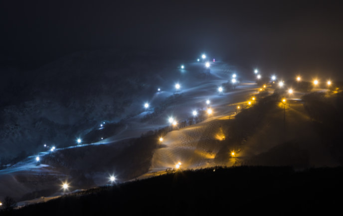 Hirafu Resort Night Skiing