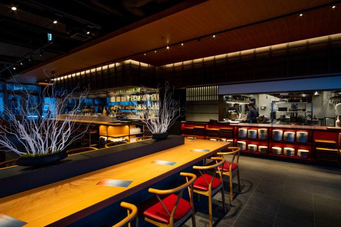 Inside Kumo Restaurant