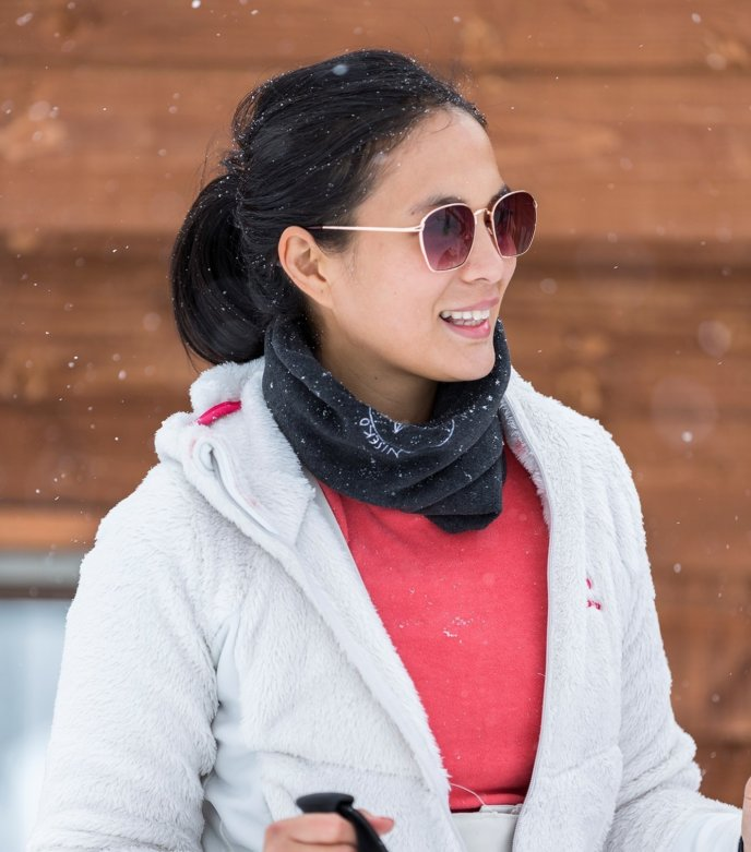 Isabelle Daza Experience Niseko Ski Lesson Winter Filipino Model Actress Celebrity 1