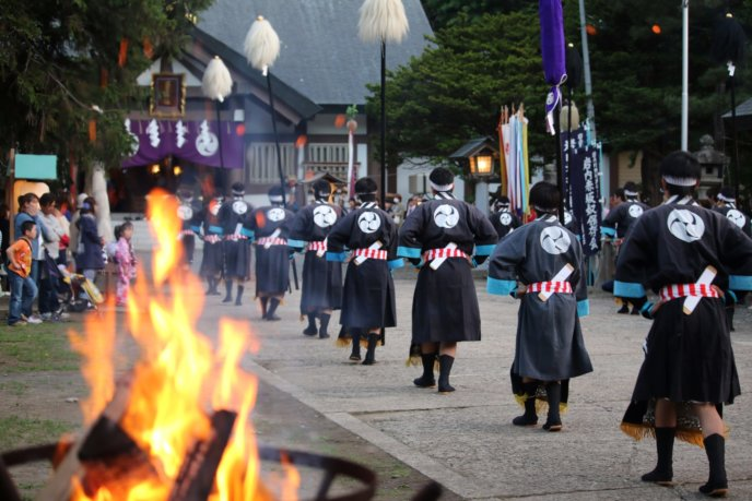 Iwanai Matsuri Parade Koichi Matsuda Photo