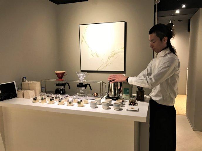 Kiyoe Niseko Gallery Hirafu Kutchan Ceramics And Coffee Event Coffee And Chocolates Server