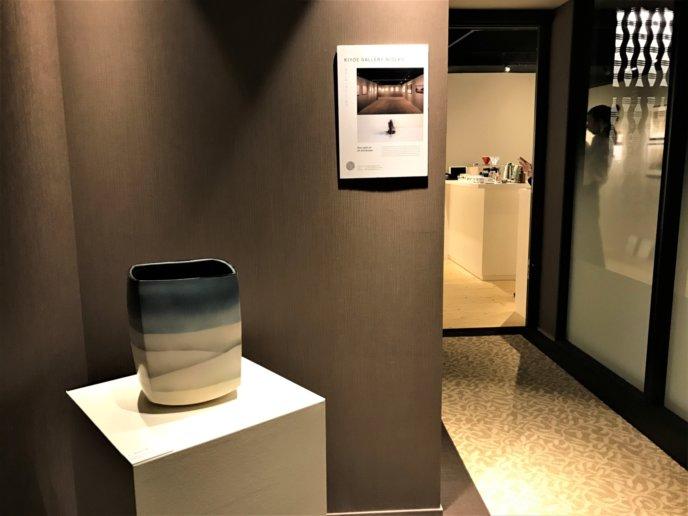 Kiyoe Niseko Gallery Hirafu Kutchan Ceramics And Coffee Event Entrance Display