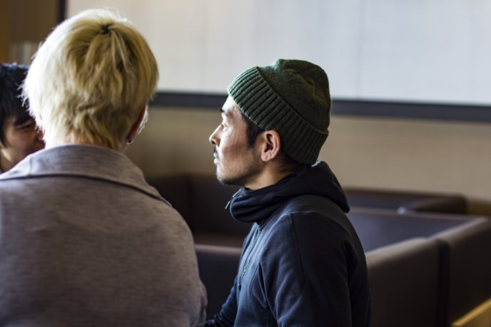 Korrin Meets Hiromi In Ki Niseko Lobby 11
