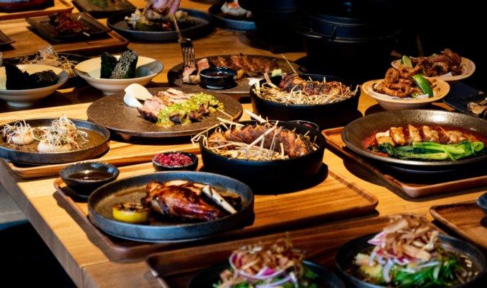 Kumo Restaurant Tasting.