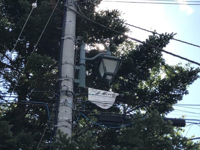 Kutchan Town St Moritz Sister Town Lamp Post Flag 1