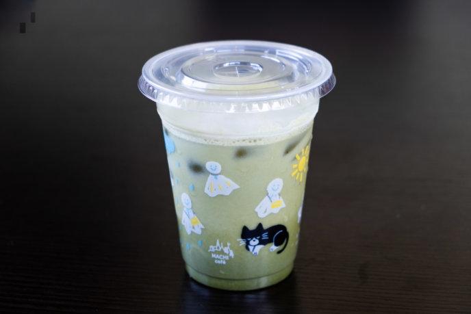 Lawson Iced Matcha Latte Lr