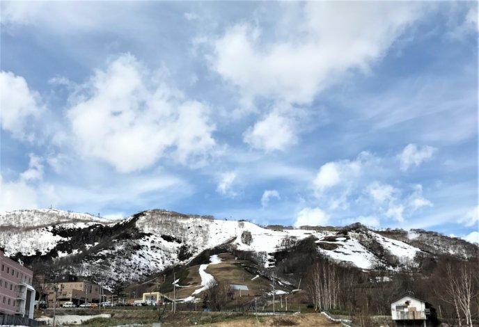 May Slopes At Grand Hirafu Just Before Resort Closes