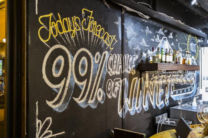 Micks Chalkboard 99 Chance Of Wine Lr
