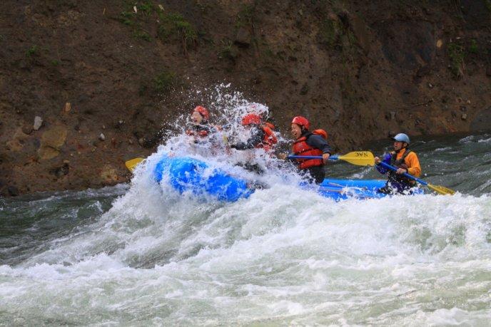 Nac Spring Water Rafting 2016