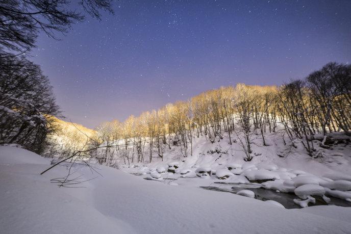 Nac Snowshoeing Niseko Night Snowshoe 2