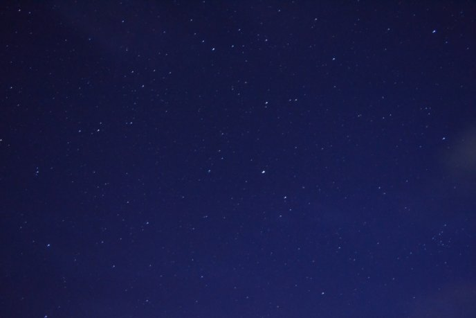 Niseko Night Sky Stars Clear Night