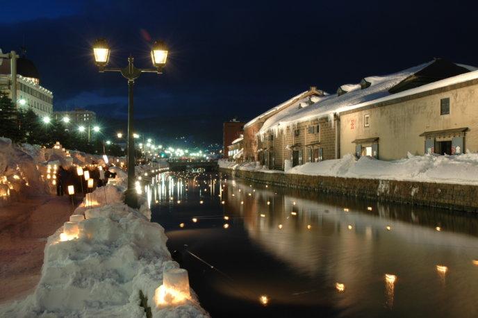 Otaru Snow Light Path Festival43