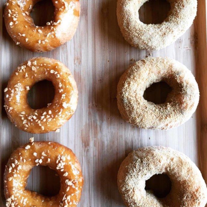 Pi Kan Roll Pizza Donuts