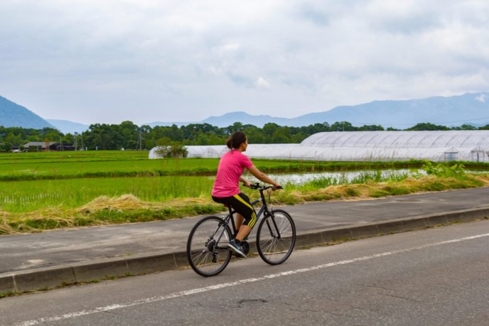 Rhythm Bike Tour At Lake Toya Summer 2017 Bicycle Cycling 2