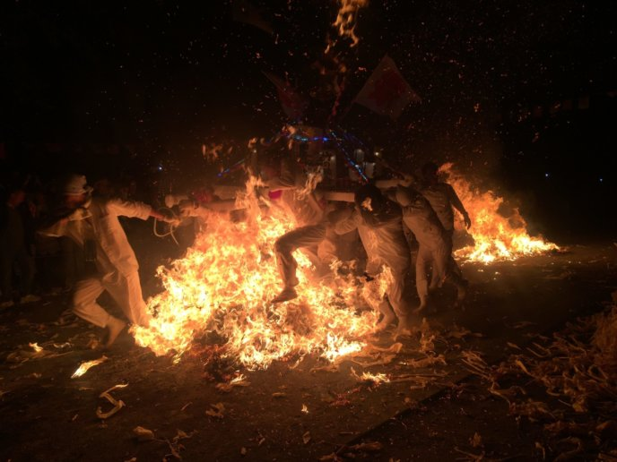 Shakotan Fire Festival Hi Matsuri 2017 1