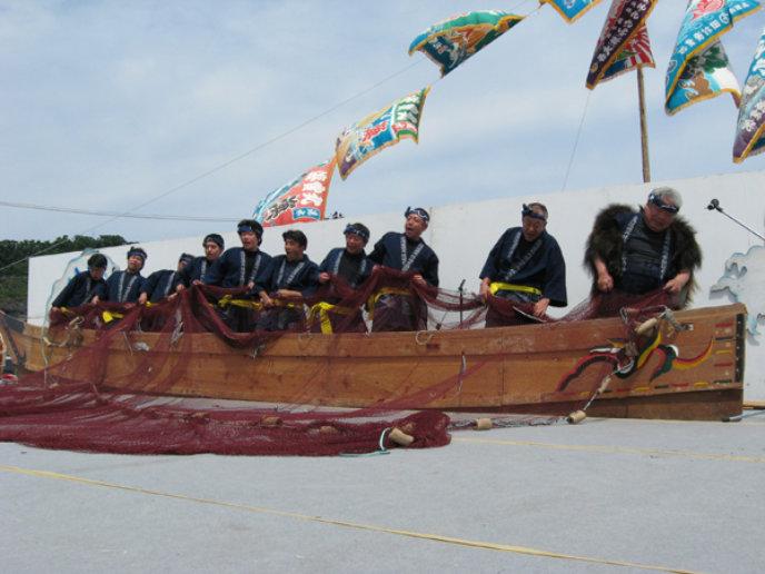 Shakotan Soran Mikaku Festival Stage Perfomance