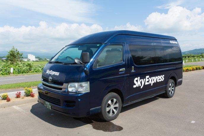 Sky Express  Hi Ace Field Zoom Left Yasuyuki Shimanuki
