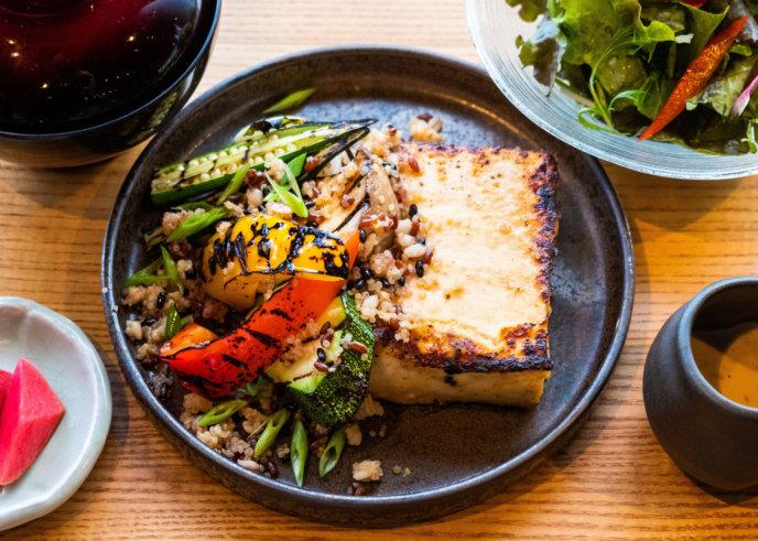 Kumo Restaurant Tofu Steak