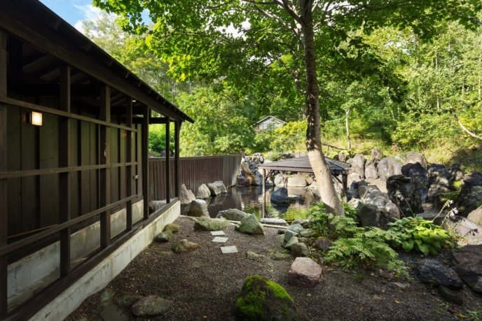 Yugokorotei Summer Onsen Rotenburo Outdoor Pool 1