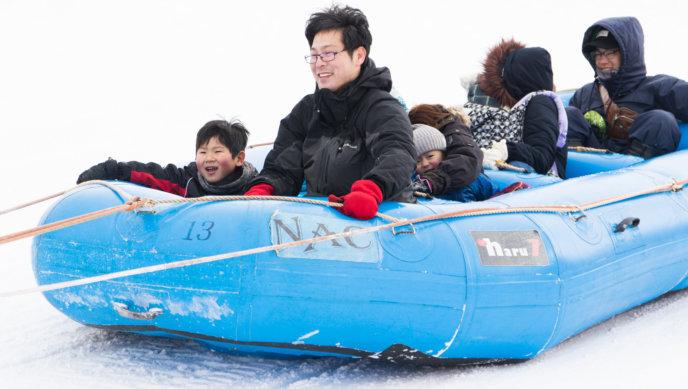 Yukitopia 2018 Kutchan Town Rafting