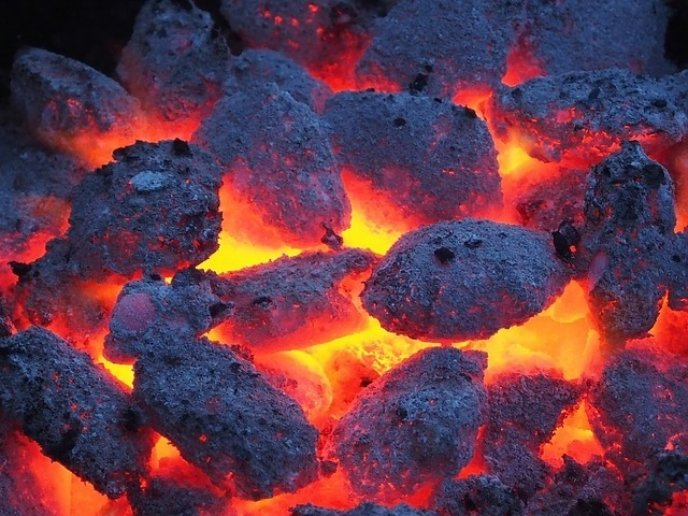 charcoal coals barbecue pixabay stock image