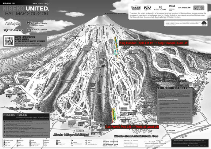 Niseko United Trail Map