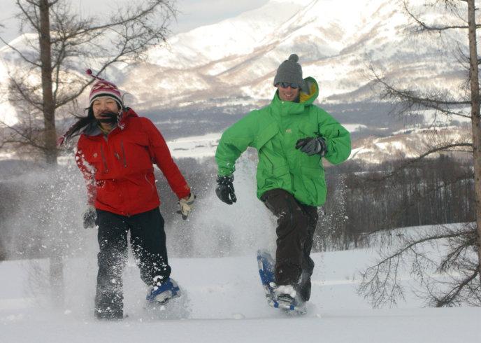 Snow Shoeing Activity