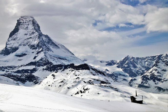 Winter Switzerland Matterhorn Zermatt