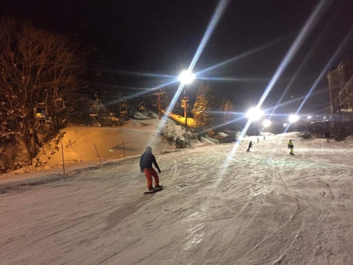 Night Skiing Opening 2016 3