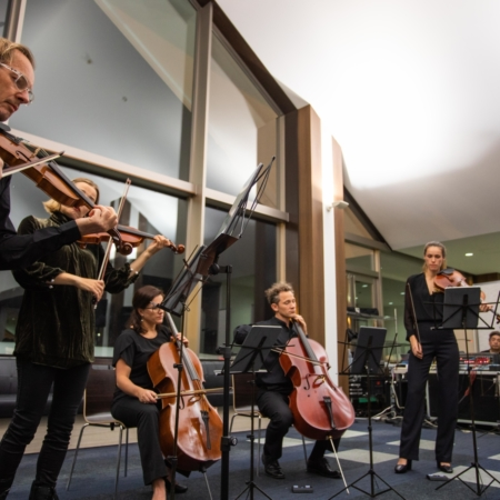 Jazzing it up with Richard Tognetti and the Australian Chamber Orchestra