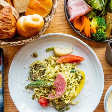 Delicious Summer Lunch in Niseko