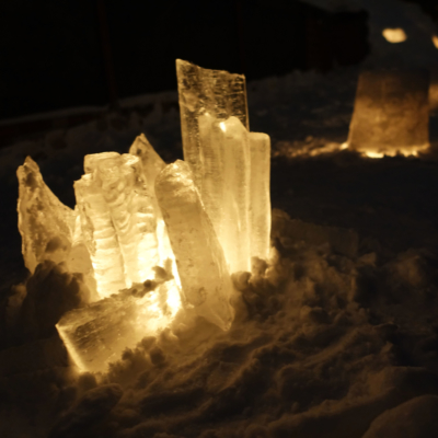 Otaru Snow Light Path 2017 Ice Crystal Candles