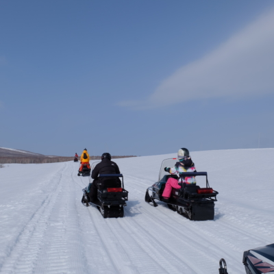 March Snowmobiling Bright Skies Fresh Snow Lots Of Fun 4