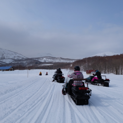 March Snowmobiling Bright Skies Fresh Snow Lots Of Fun 1