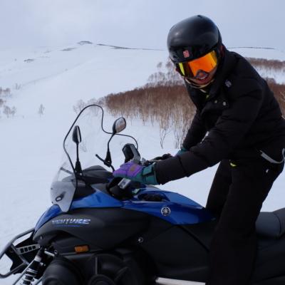 March Snowmobiling Bright Skies Fresh Snow Lots Of Fun 2