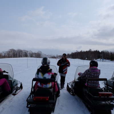 March Snowmobiling Bright Skies Fresh Snow Lots Of Fun 3