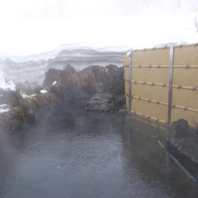 Niimi Onsen Winter Rotenburo Outdoor Pool 2