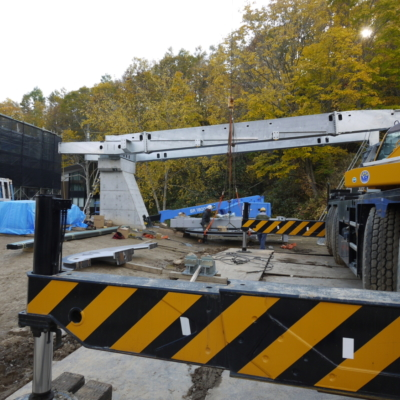 Ace Family New Lift Construction October 2017