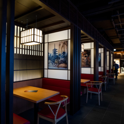Interior at Kumo Restaurant