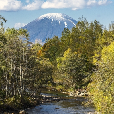 Autumn Scenery Landscapes Hidde Hageman October 2016 4 Mt Yotei Stream