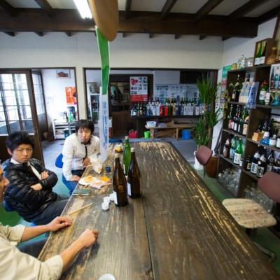 Chatting In Niseko Sake Brewery