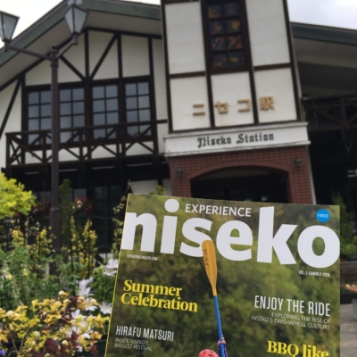 Experience Niseko Magazine at Niseko Station