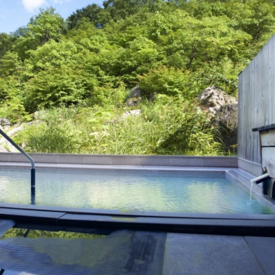 Goshiki Onsen Outdoor Pool 1 Rotenburo