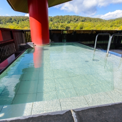 Kanro No Mori Onsen Summer Outdoor Pool Rotenburo