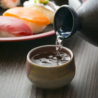 Sake from Kumo Restaurant